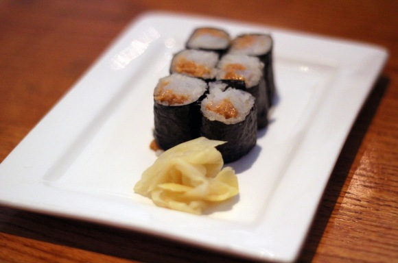 An ika uni roll from Marumi
