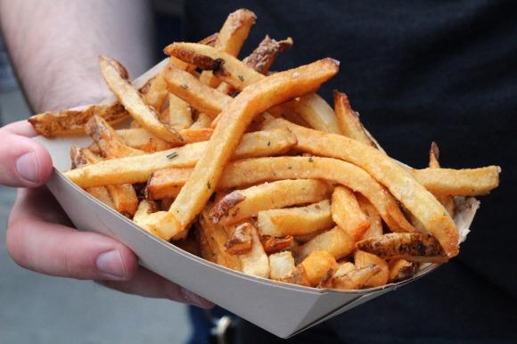 Duck Season's duck fat fries