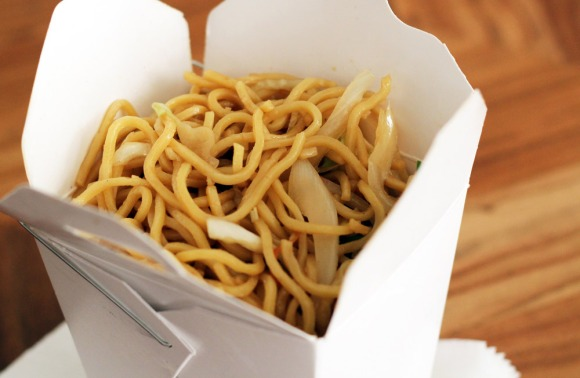 Pork lo mein from Han Dynasty