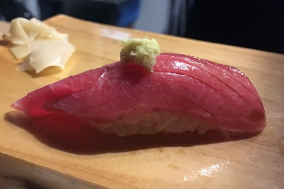 Medium fatty tuna from Sushi on Jones