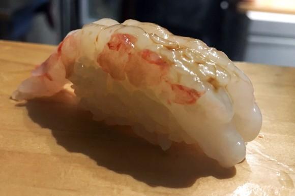 Sweet shrimp from Sushi on Jones