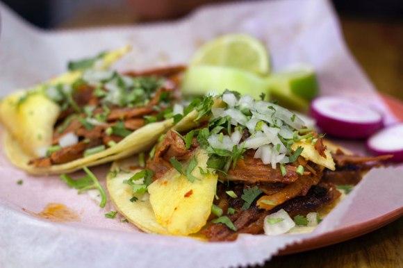 Tacos al pastor from Taco Mix