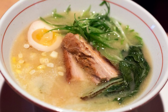 Traditional-style Miso Ramen from Ganso Ramen