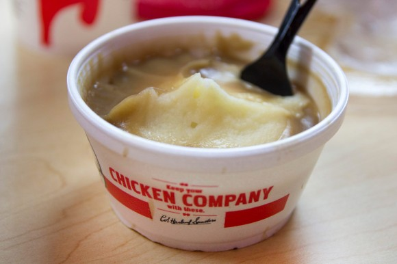 Mashed potatoes from KFC