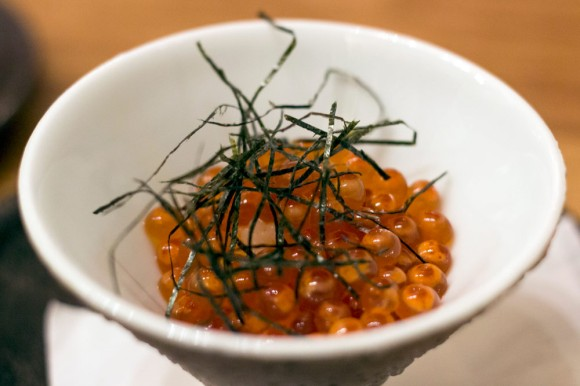 Salmon roe from Sushi Zo