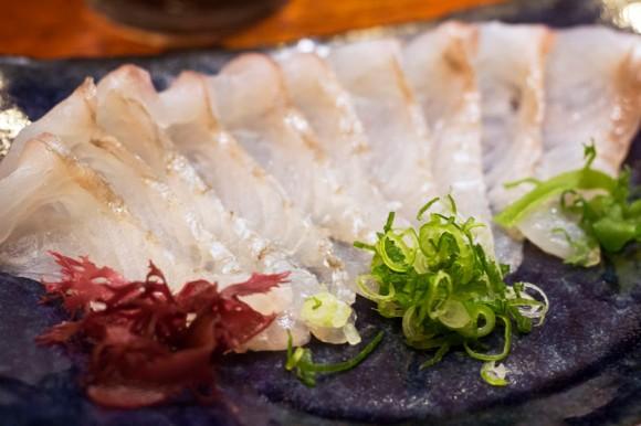 Usuzukuri from Sushi Katsuei