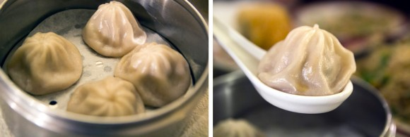 Nut-free soup dumplings from Nom Wah Tea Parlor