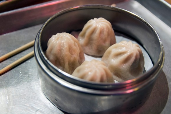 Soup dumplings from Nom Wah Nolita