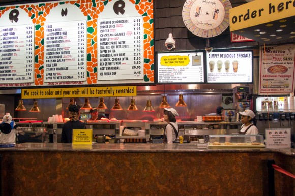 The counter at Roll-n-Roaster