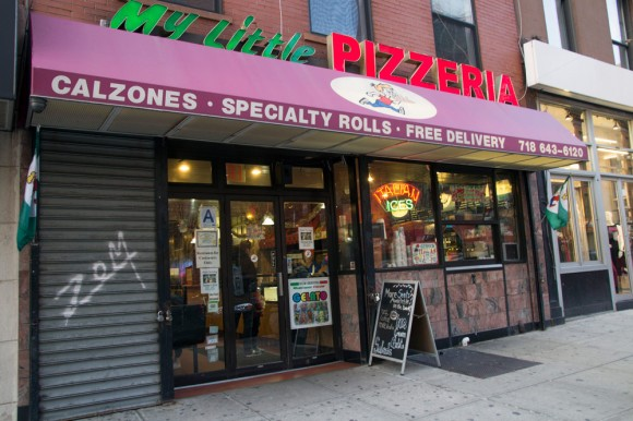 My Little Pizzeria's Brooklyn Heights storefront
