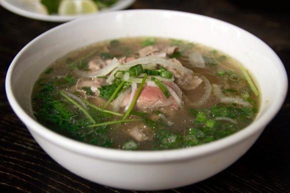 A bowl of pho from Sao Mai