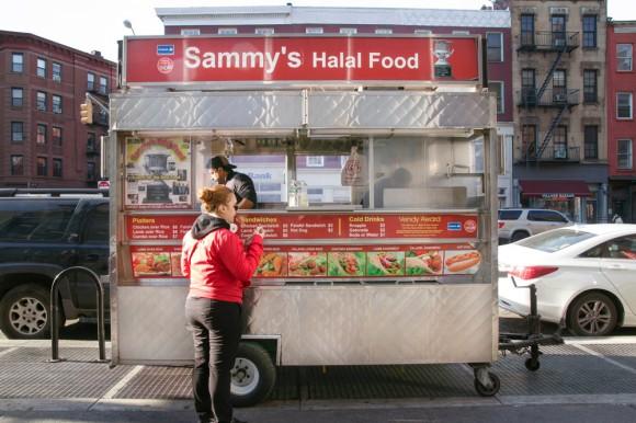 Sammy's Halal Food cart