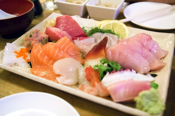 The Sashimi Deluxe from