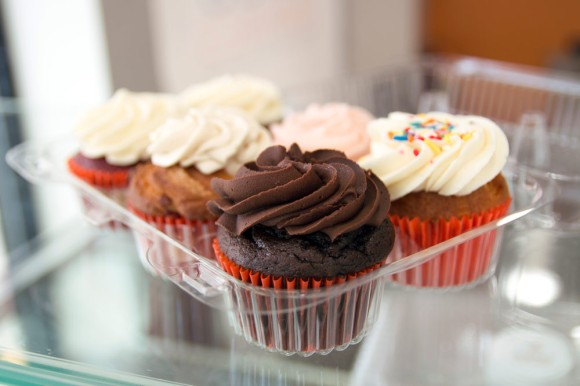 An assortment of cupcakes from Baked Cravings