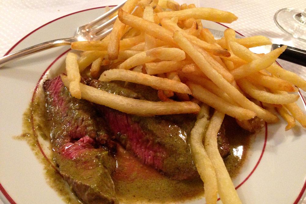 Steak frites from Relais de l'Entrecôte